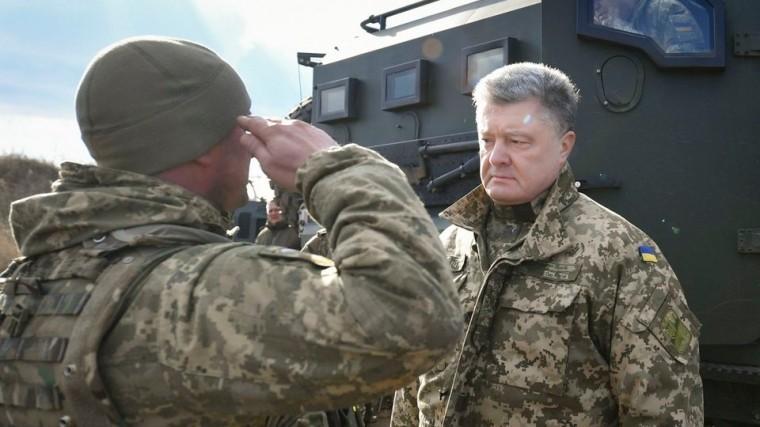 Петр Порошенко отправляется вДонбасс
