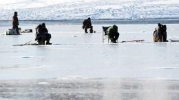 Сотколовшейся льдины наФинском заливе спасены 16 рыбаков
