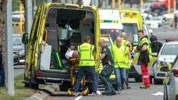 Жертвами стрельбы вмечетях новозеландского Крайстчерча стали неменее 40 человек