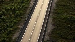 Самое короткое шоссе вмире построили вРумынии— видео