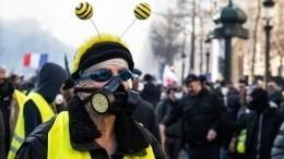Макрон обвинил всех «желтых жилетов» вжелании уничтожить Францию