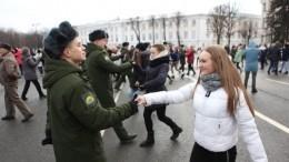 Севастопольский вальс станцевали вЯрославле вчесть пятилетия возвращения Крыма