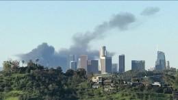 Видео: ВЛос-Анджелесе прогремел взрыв газа