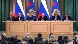 Путин призвал Генпрокуратуру реагировать нанарушение прав бизнеса— видео