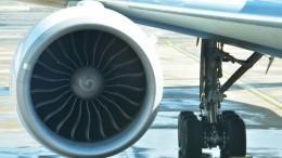 Видео: самолет ссотней пассажиров наборту загорелся при посадке вТегеране