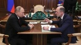 Путин провел встречу сврио главы Республики Алтай— видео