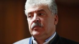 ЦИК выступил против передачи думского мандата Грудинину
