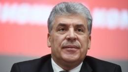 Пресс-секретарь КПРФ пригрозил журналистам после отказа Грудинину вмандате