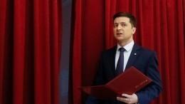 Зеленский попросит уЗапада разрешения строить диалог напрямую сМосквой