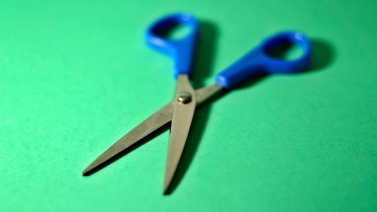 Как заточить ножницы за15 секунд— простой иочень полезный лайфхак