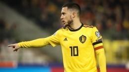 Россия проиграла Бельгии вматче отборочного турнира Евро-2020. Головин получил красную