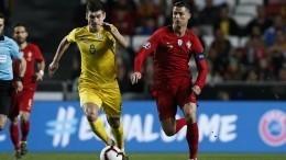 Португалия иУкраина сыграли вничью вматче отбора Евро-2020
