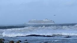 Наборту терпящего бедствие лайнера Viking Sky трое россиян— членов экипажа
