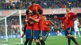 Гол Серхио Рамоса помог Испании обыграть Норвегию вотборах наЕвро-2020