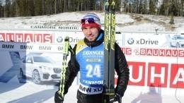 Александр Логинов занял второе место вобщем зачете Кубка мира побиатлону
