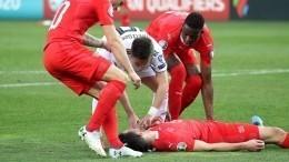 Полузащитник сборной Грузии спас жизнь игроку сборной Швейцарии