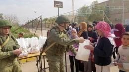 Военные РФдоставили вСирию жизненно важное медицинское оборудование— видео