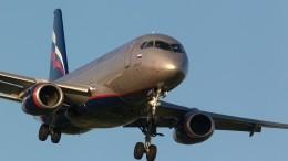 Sukhoi Superjet-100 чуть неврезался вснег при посадке вУльяновске