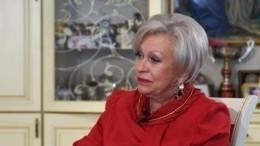 Вдова Караченцова госпитализирована после падения надаче