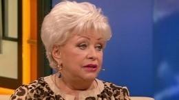 «Косточки отлетели»: вдова Караченцова освоей госпитализации