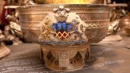 Видео: ВЦарском Селе показали сокровища изклада Нарышкиных