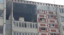 «Прыгай!»— страшные кадры спасения жителя Казани изполыхающей квартиры