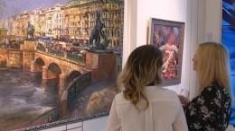 «Роман снебом»: ВЛенинград-центре открылась выставка художника Романа Ляпина