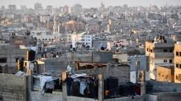 Нетаньяху распорядился «сузить кольцо» вокруг сектора Газа