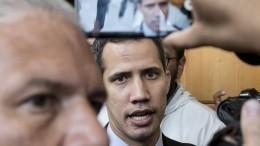 Видео: Суд Венесуэлы постановил заключить под стражу секретаря Гуайдо