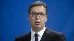 Президент Сербии еще раз объяснил, почему неможет признать Крым российским