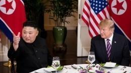 Стало известно, очем Трамп попросил Ким Чен Ына насаммите вХаное