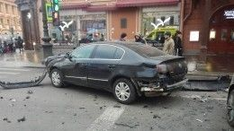 Скончался второй пострадавший вДТП наНевском проспекте вПетербурге