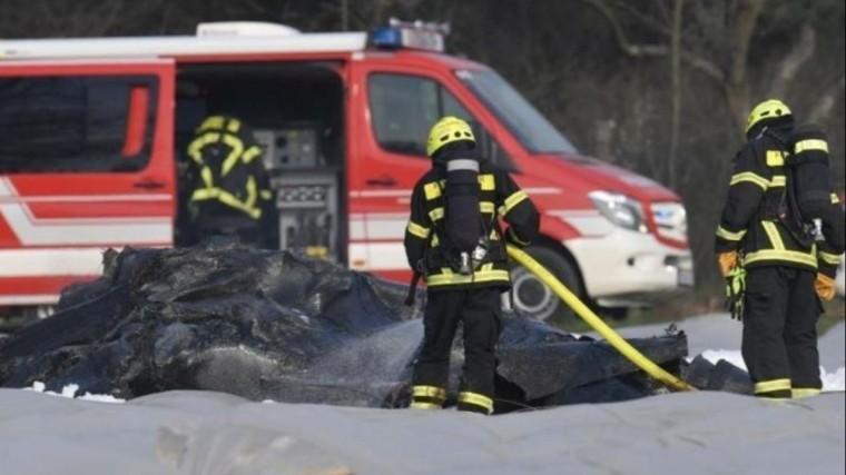 Немецкие полицейские попали всмертельное ДТП напути кместу авиакатастрофы