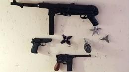 Наместе пожара вмосковских гаражах нашли гранаты иоружие