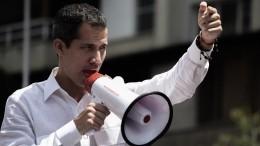 ВВенесуэле предложили расстрелять Гуайдо загосизмену