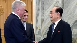 Глава МВД Колокольцев оценил подготовку правоохранителей изСеверной Кореи