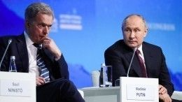 Путин провел для финского коллеги географический ликбез инапомнил, где Крым