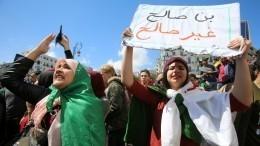 Алжир встретил временного президента погромами