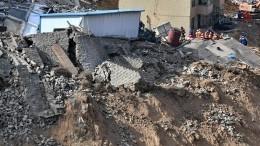 Оползень разрушил ряд домов вСтавропольском крае