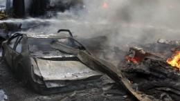 Война запарковку: вспальном районе Подмосковья вновь полыхали машины