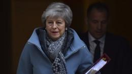 Лидеры ЕСиВеликобритании договорились опереносе Brexit— видео