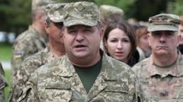 Министр обороны Украины пообещал проплыть под Крымским мостом
