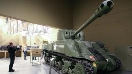 Американский танк впервые примет участие вПараде Победы вХабаровске— видео