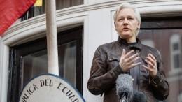 Видео: Хакеры Anonymous пригрозили властям Британии из-за Ассанжа