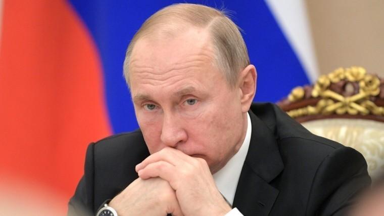 Опубликованы сведения одоходах Владимира Путина в2018 году