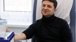 Зеленский рассказал, почему нестал сдавать анализы вместе сПорошенко
