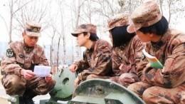 Фото: ВКитае сформированы женские танковые экипажи