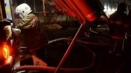 ВТверской области загорелся деревообрабатывающий комбинат