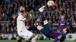 «Барселона» победила «Манчестер Юнайтед» в¼ финала Лиги чемпионов