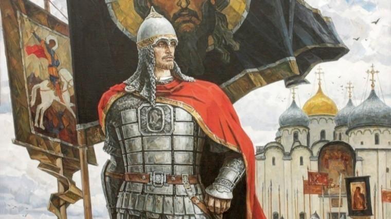 """Александр Невский"". Автор: Юрий Пантюхин."